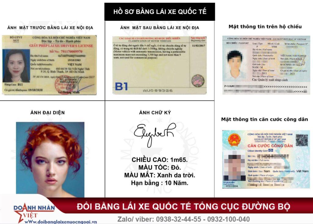 Dịch vụ công đổi giấy phép lái xe quốc tế
