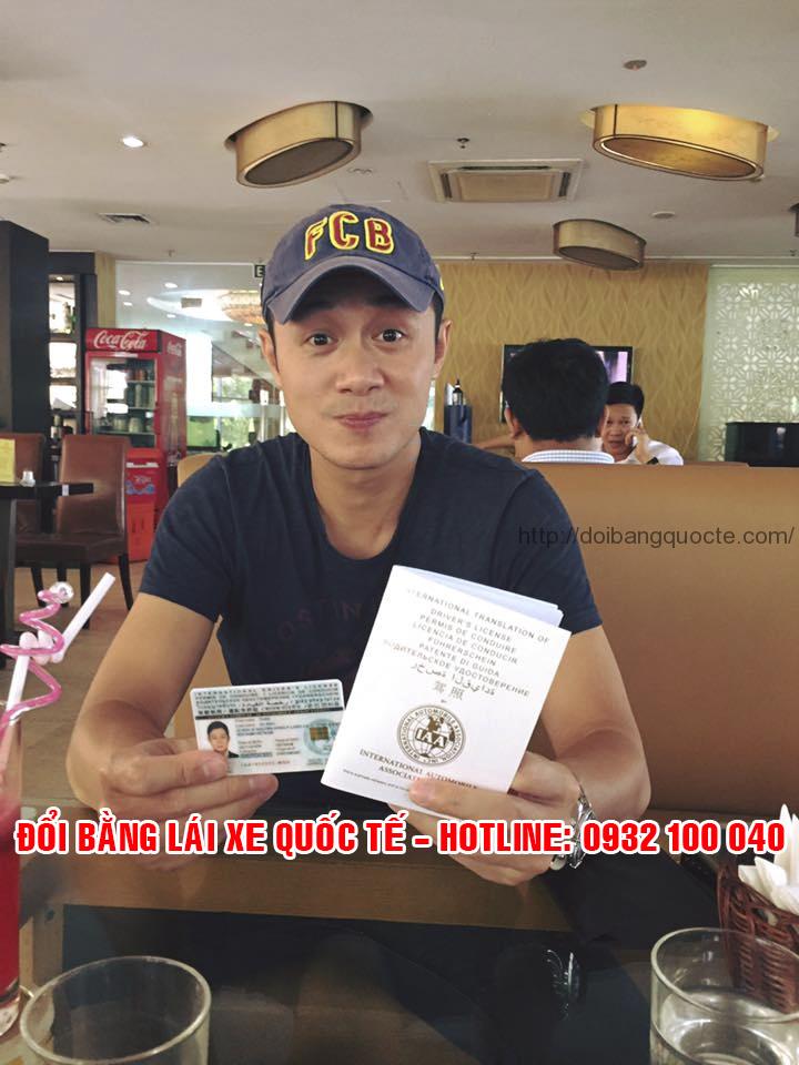 MC Anh Tuấn, một trong các khách hàng của chúng tôi