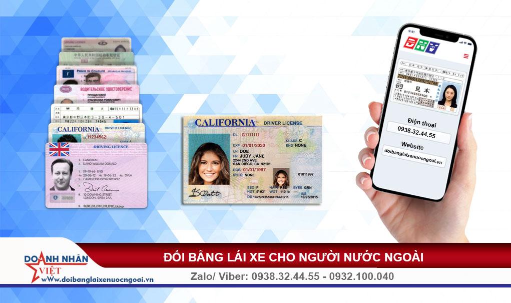 Người nước ngoài có được lái xe ở Việt Nam