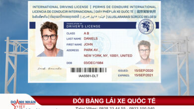 Bằng lái quốc tế có dùng được ở Việt Nam