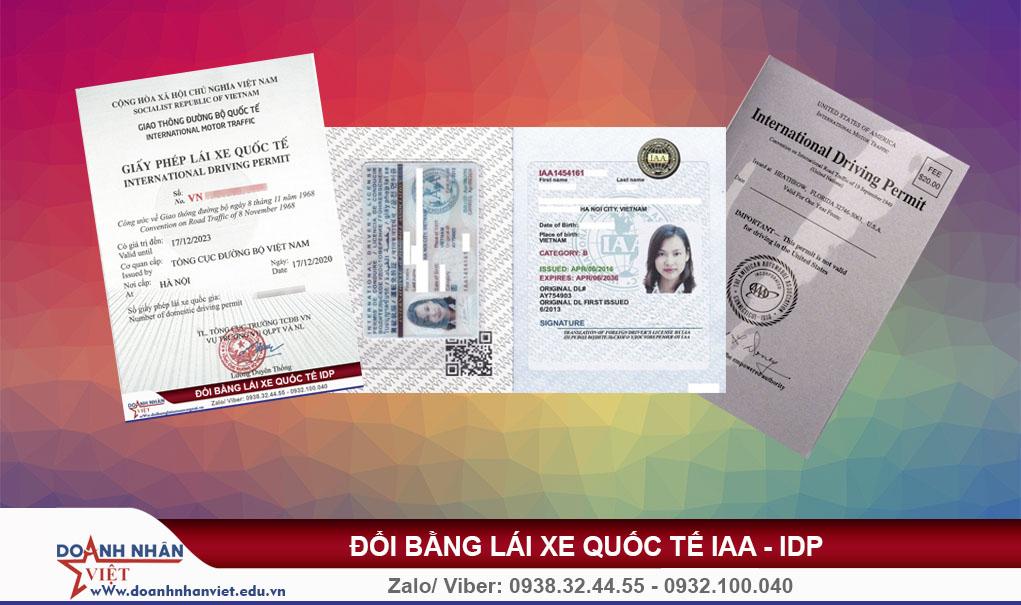 Bằng lái xe quốc tế có được lái xe ở Việt Nam