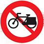 Cấm xe đạp thồ