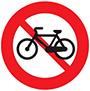 Biển báo cấm đi xe đạp