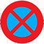 Biển báo cấm dừng xe và đỗ xe