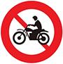 Biển báo cấm mô tô