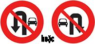 Biển báo cấm ô tô quay đầu xe