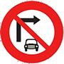 Cấm ô tô rẽ phải