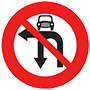 Cấm ô tô rẽ trái và quay đầu
