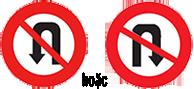 Biển báo cấm quay xe