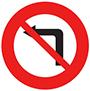 Biển báo cấm rẽ trái