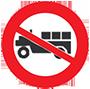 Biển báo cấm xe công nông và các loại xe tương tự