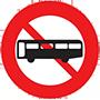 Biển báo cấm xe ô tô khách