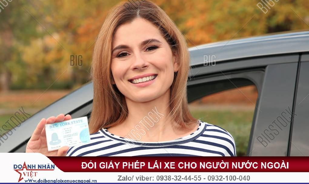 Chuyển đổi bằng lái xe cho người nước ngoài tại Việt Nam