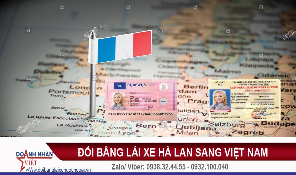 Đổi bằng lái xe Hà Lan sang Việt Nam