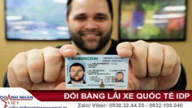 Đổi bằng lái xe cho người nước ngoài tại Hà Nội