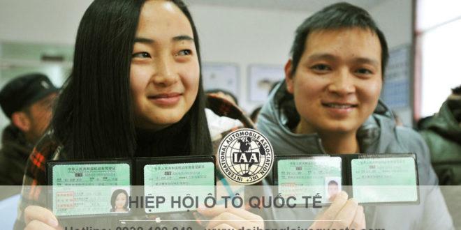 Đổi bằng lái xe Đài Loan sang Việt Nam qua mạng