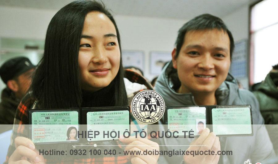 Đổi bằng lái xe Đài Loan sang Việt Nam