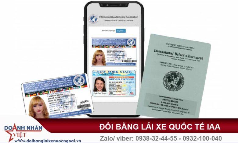 Đổi bằng lái xe máy Việt Nam sang quốc tế