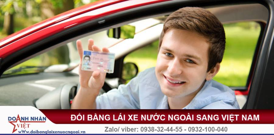 Đổi bằng lái xe nước ngoài