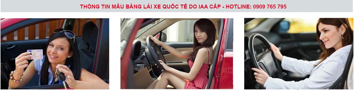 Nơi đổi bằng lái xe Ô tô nước ngoài, thủ tục giấy phép lái xe nước ngoài tại Việt Nam