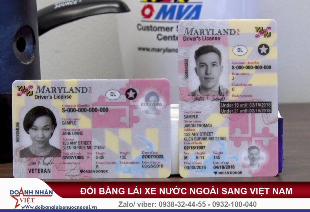 Đổi bằng lái xe ô tô cho người nước ngoài