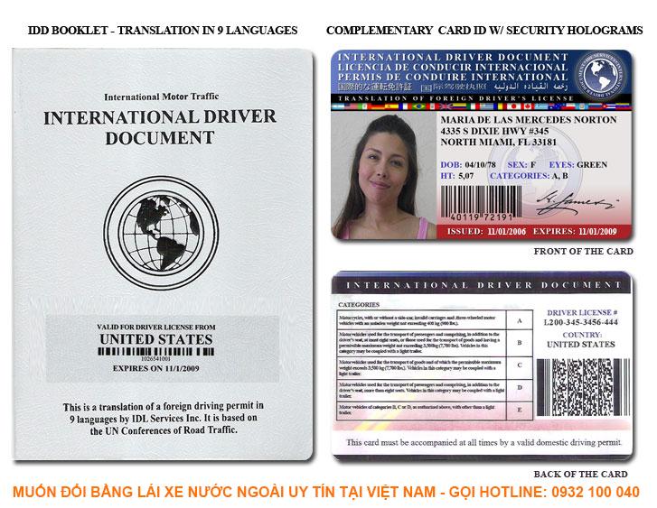 Địa chỉ đổi bằng lái xe nước ngoài uy tín và chất lượng tại Việt Nam