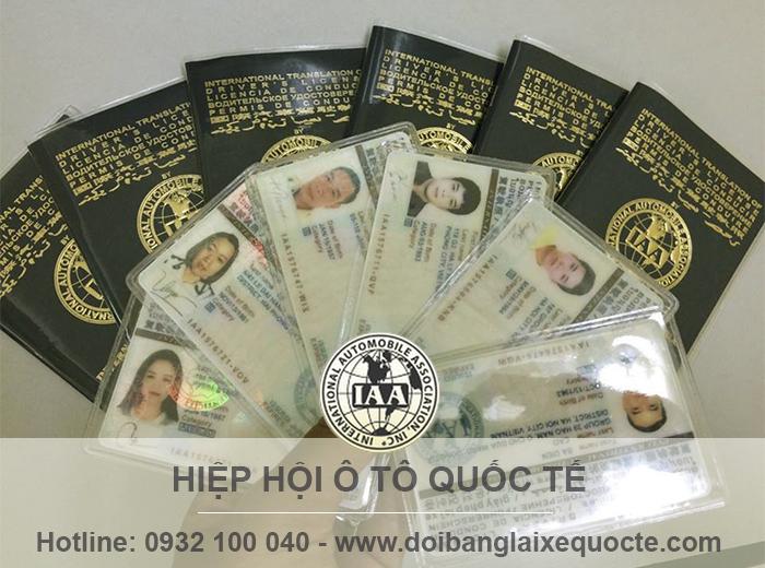 Đổi bằng lái xe quốc tế tại Thanh Hóa