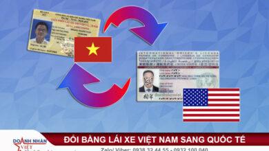 Đổi bằng lái xe Việt Nam sang quốc tế