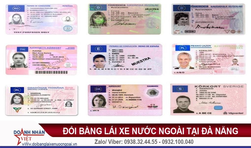 Đổi bằng lái xe nước ngoài tại Đà Nẵng