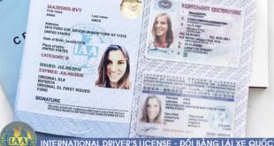 Địa chỉ cấp đổi giấy phép lái xe quốc tế tại Đà Nẵng cấp tốc qua mạng