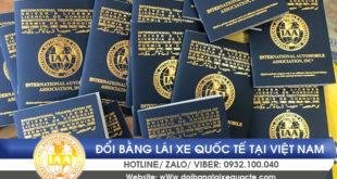 Đổi giấy phép lái xe quốc tế tại Hà Nội qua mạng