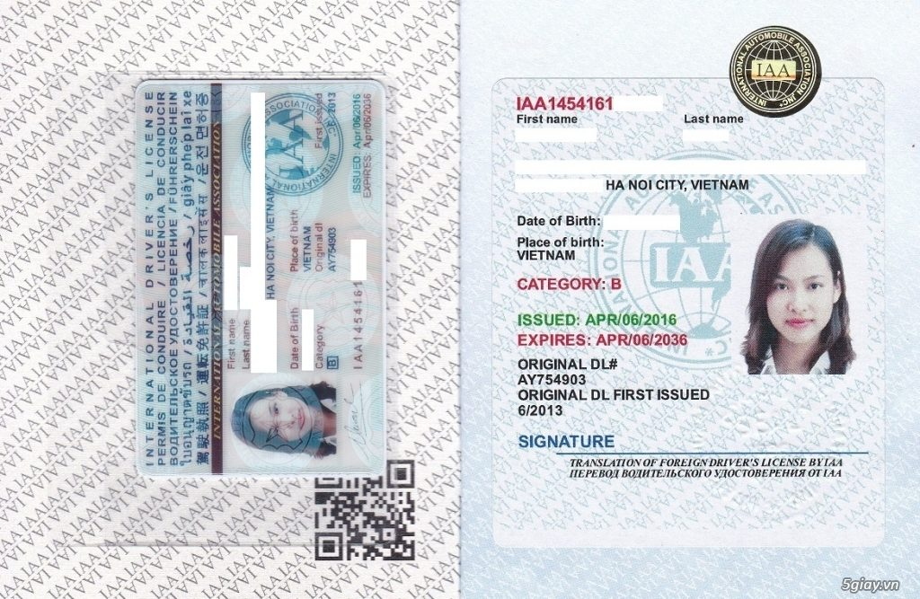 Hướng dẫn thủ tục cấp đổi giấy phép lái xe quốc tế tại Hải Phòng