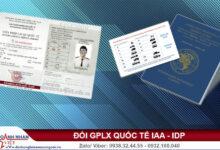 Đổi GPLX quốc tế
