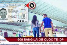 Đổi giấy phép lái xe cho người nước ngoài
