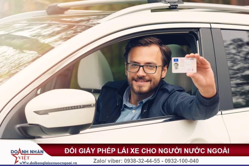 Giấy phép lái xe của người nước ngoài hết hạn