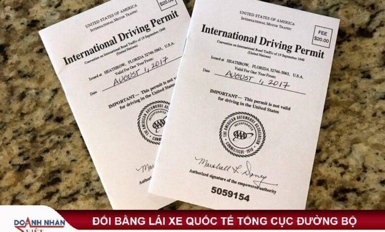 Giấy phép lái xe quốc tế được sử dụng tại 85 quốc gia