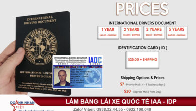 Làm bằng lái xe quốc tế