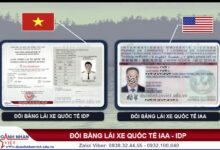 Quy định về sử dụng bằng lái xe quốc tế
