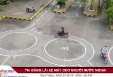 Người nước ngoài có được thi bằng lái xe máy