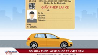 Thời gian nhận giấy phép lái xe