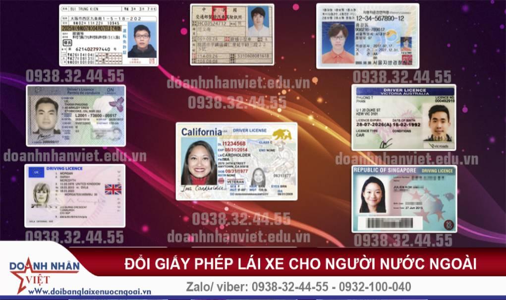 Thời hạn giấy phép lái xe cho người nước ngoài