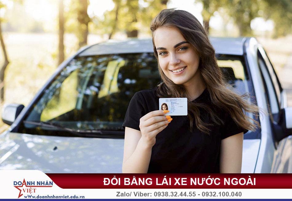 Thủ tục đổi bằng lái xe nước ngoài